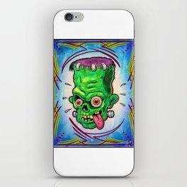 FrankenHead iPhone Skin