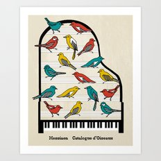 Messiaen - Catalogue d'Oiseaux Art Print