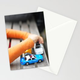 284. Little Police car, New York Stationery Cards