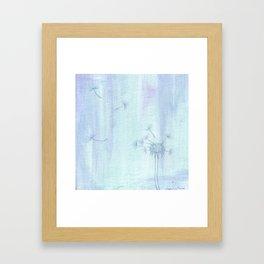 """""""Dandelion"""" Framed Art Print"""