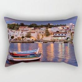 Ferragudo at dusk, Portugal Rectangular Pillow