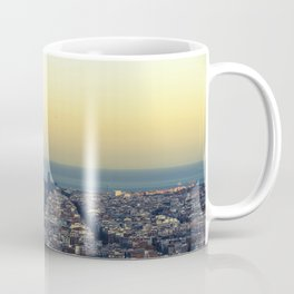 Barcelona view Coffee Mug