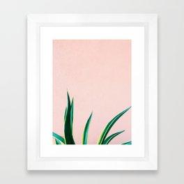 Jungalow Vibe Framed Art Print