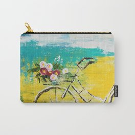 flower bike Carry-All Pouch