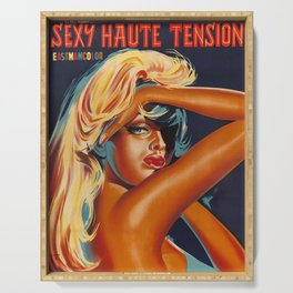 SEXY HAUTE TENSION Serving Tray