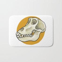 Baboon Skull Bath Mat