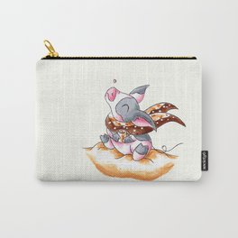 Snow and Cocoa Carry-All Pouch