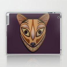 Feline tribal mask Laptop & iPad Skin
