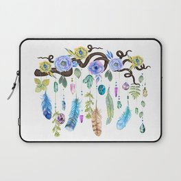 Wild Wood Roses And Twisted Branches Spirit Gazer Laptop Sleeve