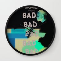 religion Wall Clocks featuring Bad Religion. by indefinit