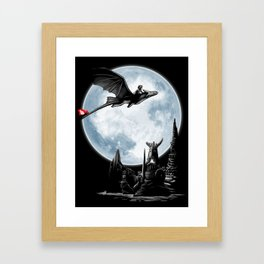 Toothless: The Night Fury Framed Art Print