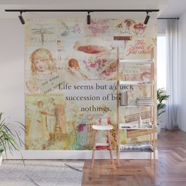 Jane Austen Funny Life Quote Wall Mural