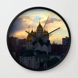 The Church. Wall Clock