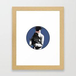 the filmaker Framed Art Print