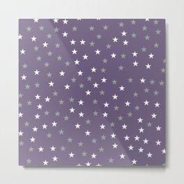 Stars Pattern 2 Metal Print