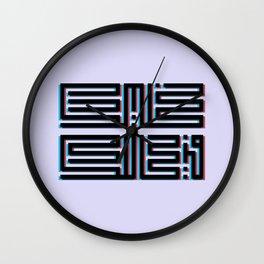 خليك في حالك Wall Clock