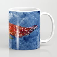 trout Mugs featuring Coral Trout by Serenity Photography