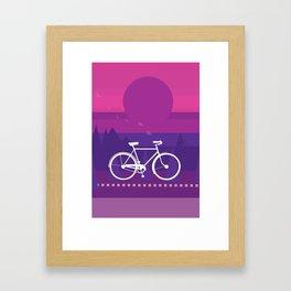 B I K E Framed Art Print