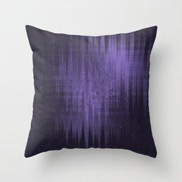 Random weird looking unclear, bright and shaky dark slate gray, dark slateblue and light slate gray Throw Pillow