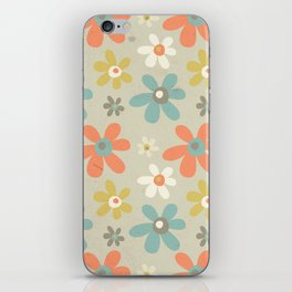 flowers pattern iPhone Skin