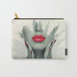 pucker up art Carry-All Pouch