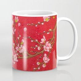 Minhwa: Red Blossom Coffee Mug