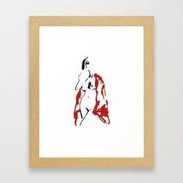 Art figure Framed Art Print