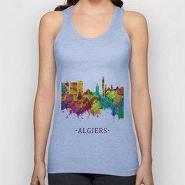 Algiers Algeria Skyline Unisex Tank Top