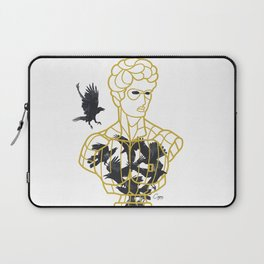 David Cage inspired by the statue of David by Michelangelo  Laptop Sleeve
