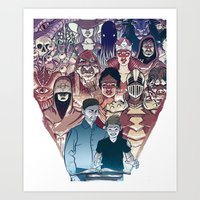 dungeons and dragons Art Prints featuring Dungeons & Dragons by Steven P Hughes