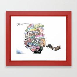 Arming Teachers Framed Art Print