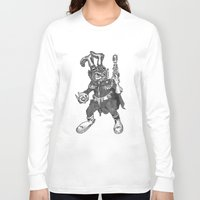 bucky Long Sleeve T-shirts featuring Bucky O'Hare by Hartless