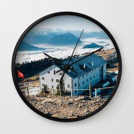 Rigi Kulm Switzerland Wall Clock