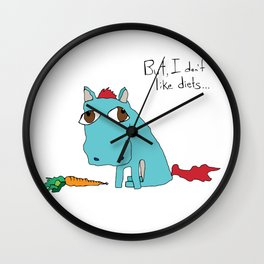 But, I don't like diets... Wall Clock