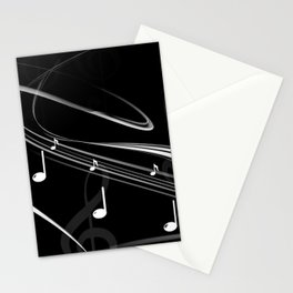 DT MUSIC 4 Stationery Cards