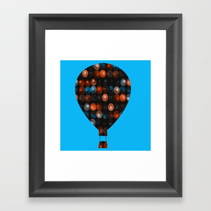 My Beautiful balloon Framed Art Print