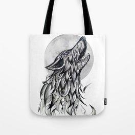Moon Howl Tote Bag