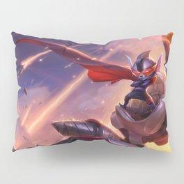 Super Galaxy Rumble Splash Art Wallpaper Official Artwork League of Legends lol Pillow Sham