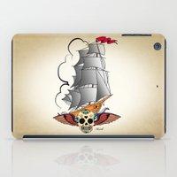 ship iPad Cases featuring ship by mark ashkenazi