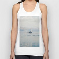 sailing Tank Tops featuring Sailing by Suzanne Trooster
