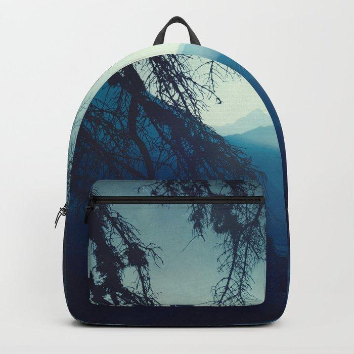 blue morning - vertical tapestry Backpack