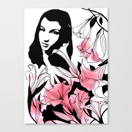 The Best Flower From Your Garden Canvas Print