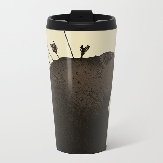 Hurt Metal Travel Mug