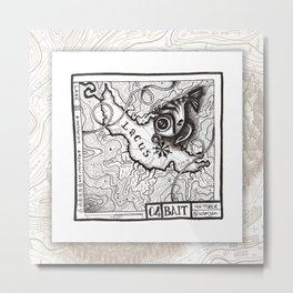 04 BAIT Maptober 2019 Metal Print