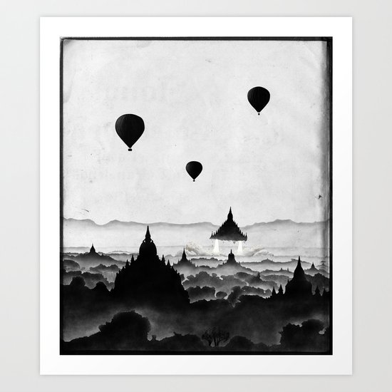 Aurora (On Paper) Art Print