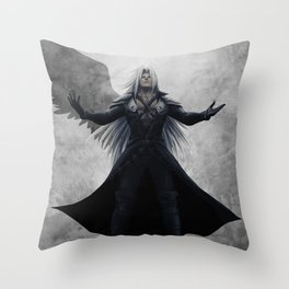 Sephiroth - One Winged Angel Throw Pillow