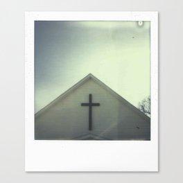 Church + Sky Canvas Print