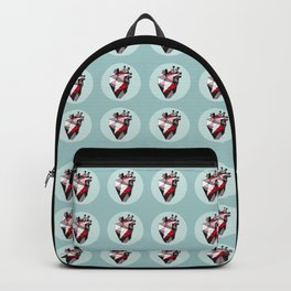Minty Bubble Heart vol. 2 Backpack