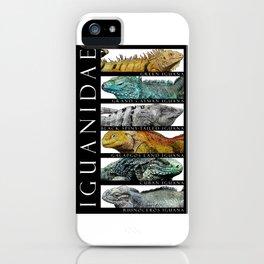 Iguanas of the World iPhone Case