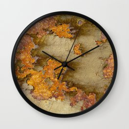 Rusting Panel Wall Clock